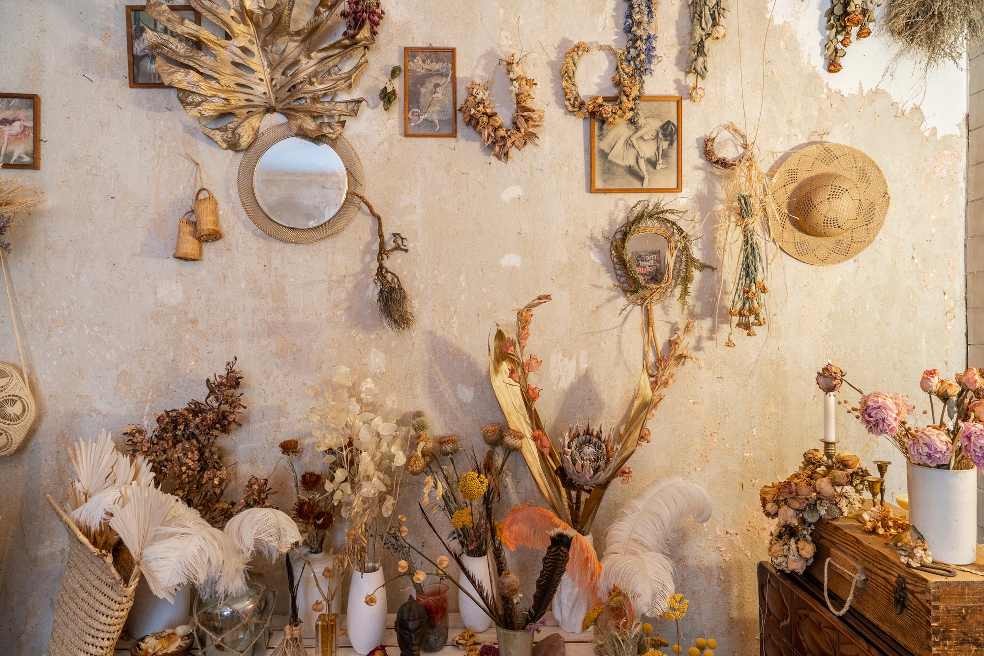 Studio of Botanical Stylist & Creative Director Maggie Coker