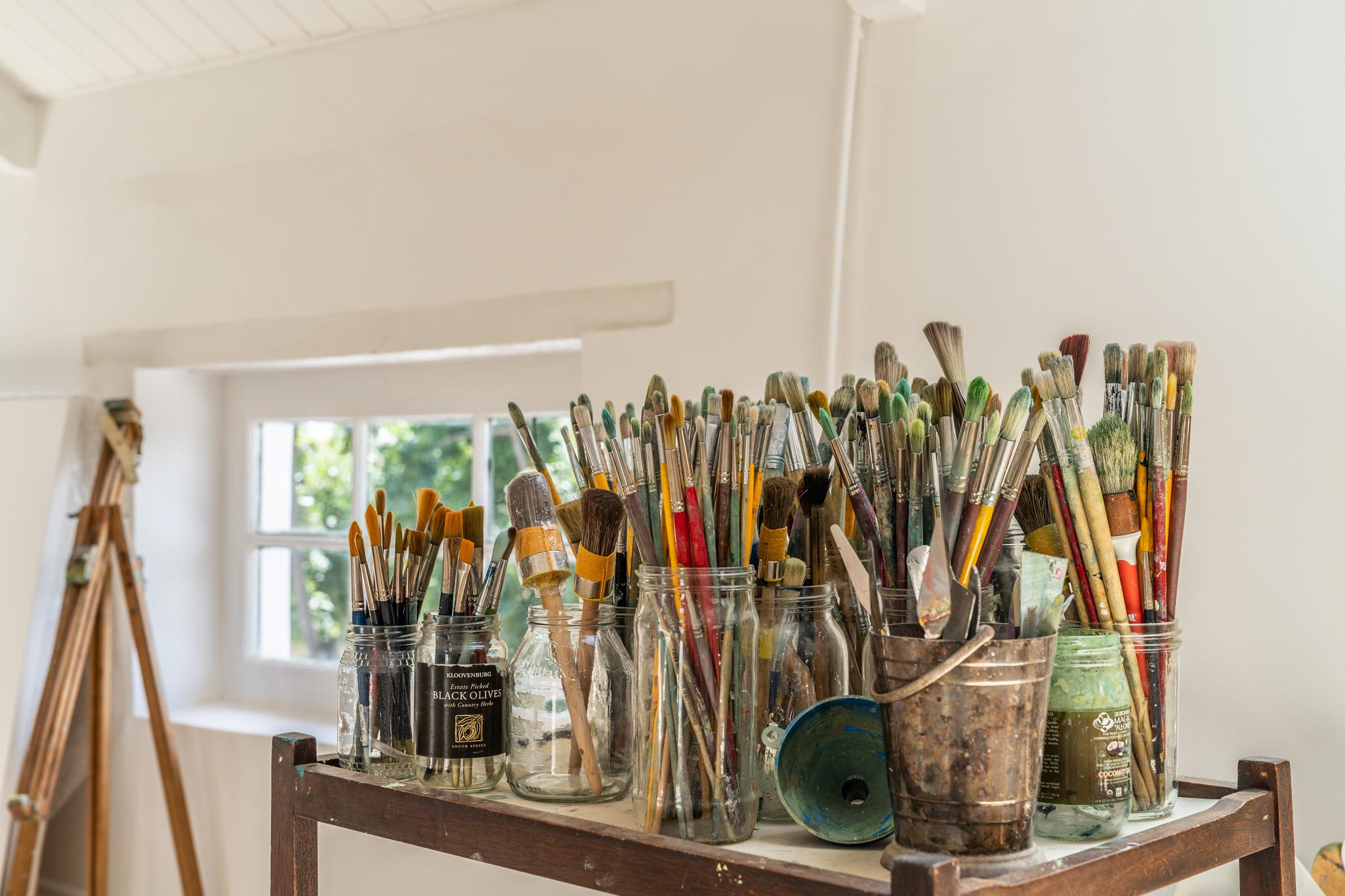 Studio space of South Artist, Jenny Parsons