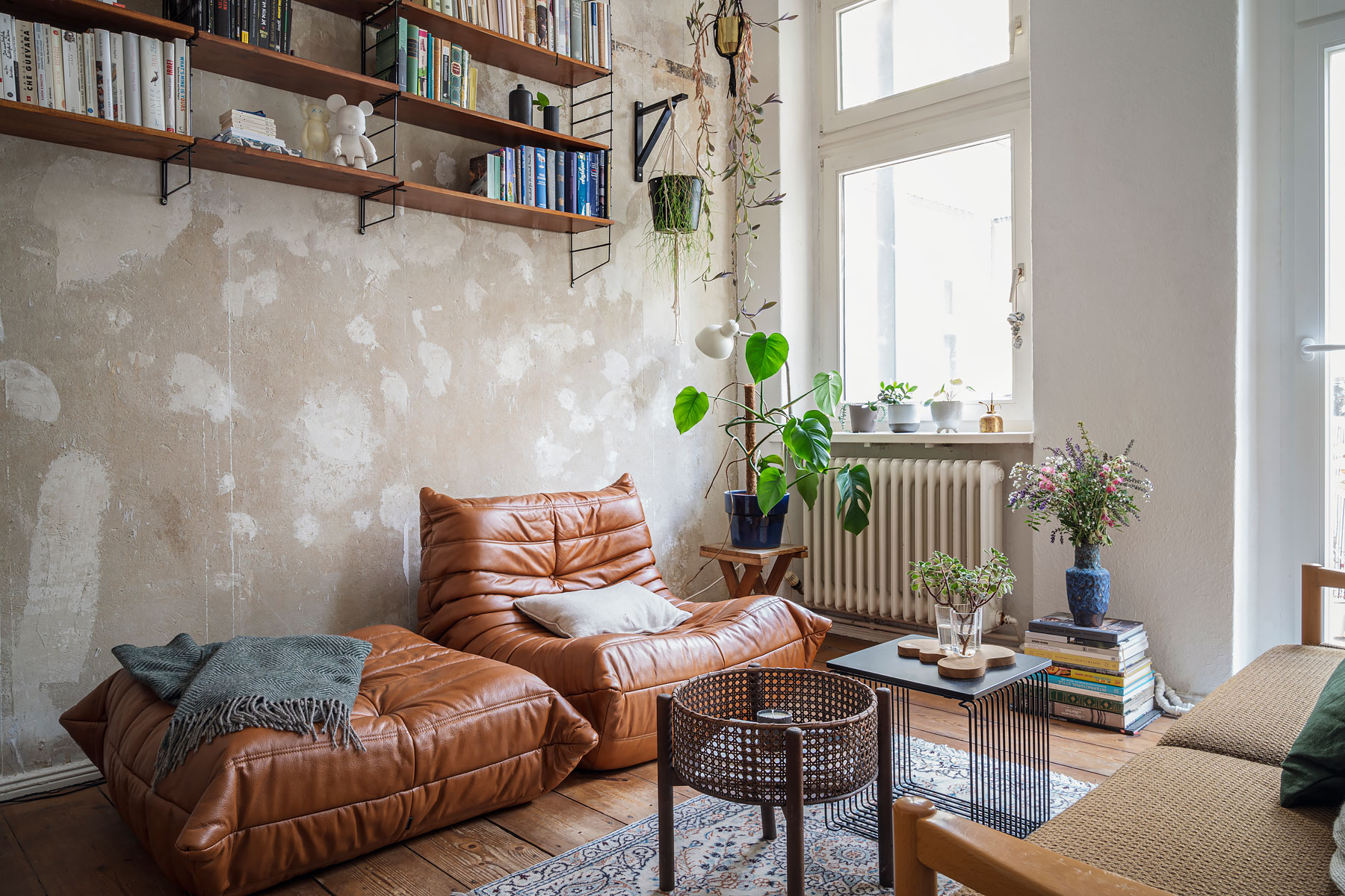 Beautiful apartment of Berlin based interior designer