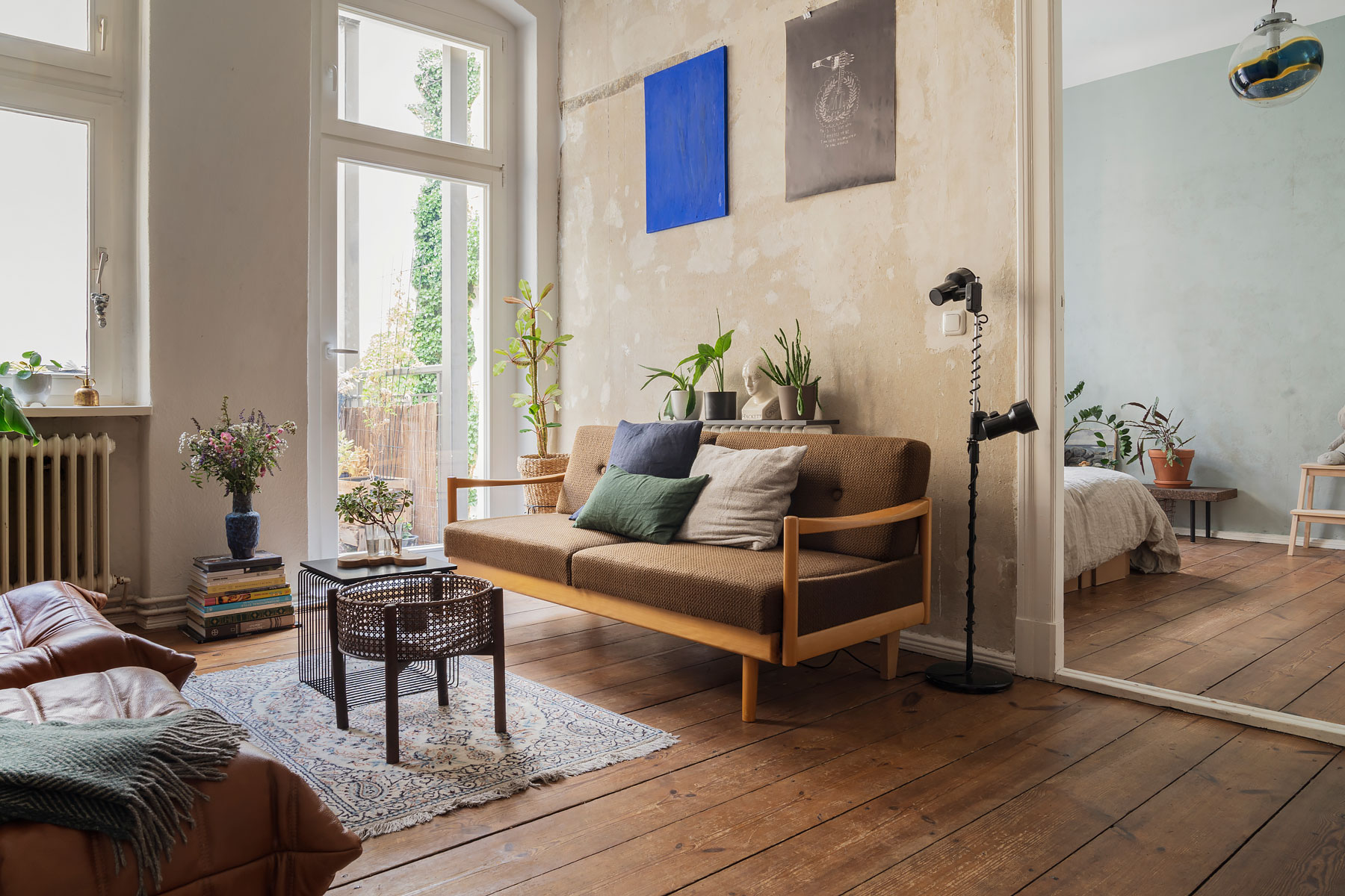 Apartment of Berlin based interior designer Line Casselman