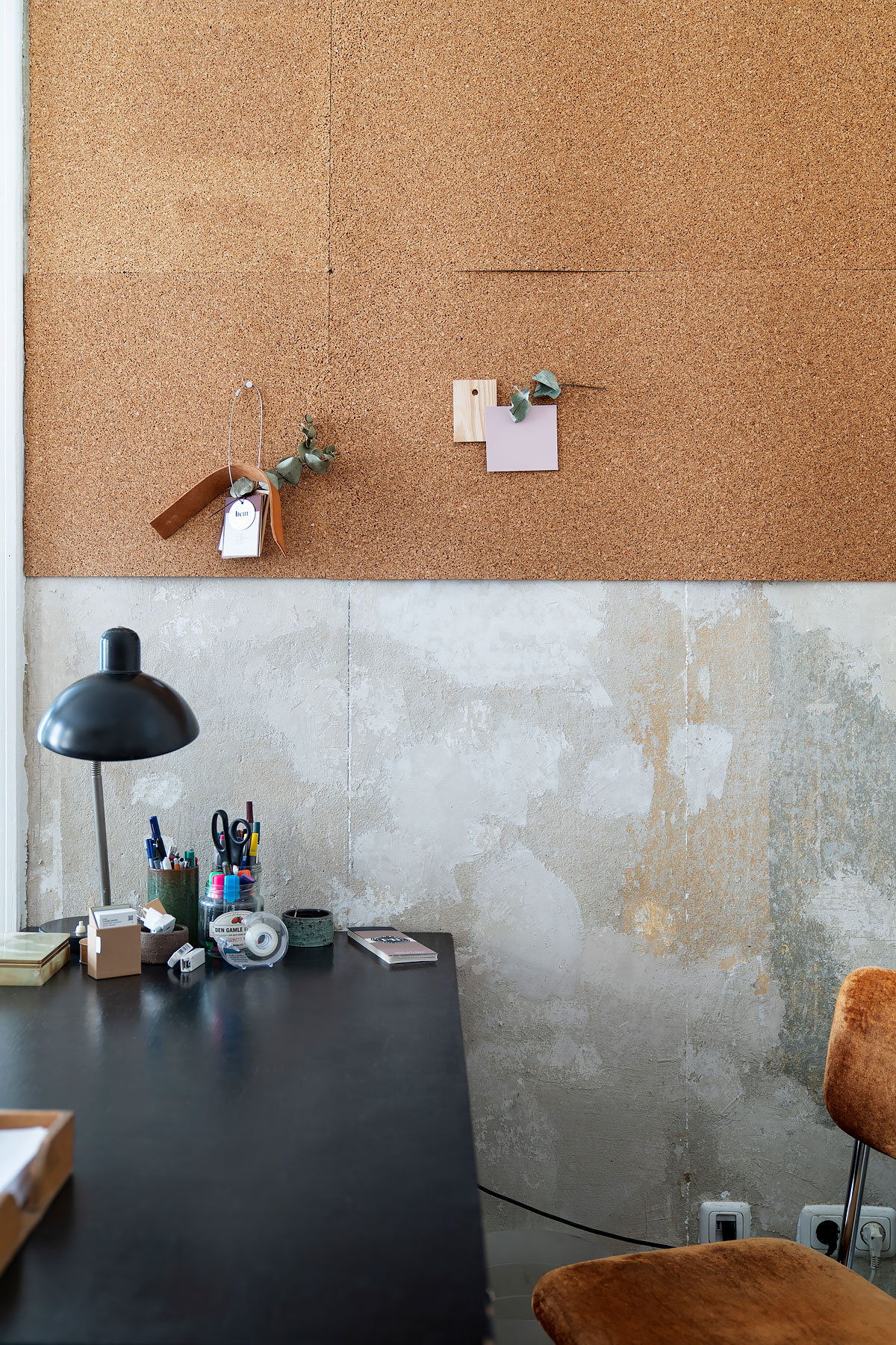 Home office of interior designer based in Berlin