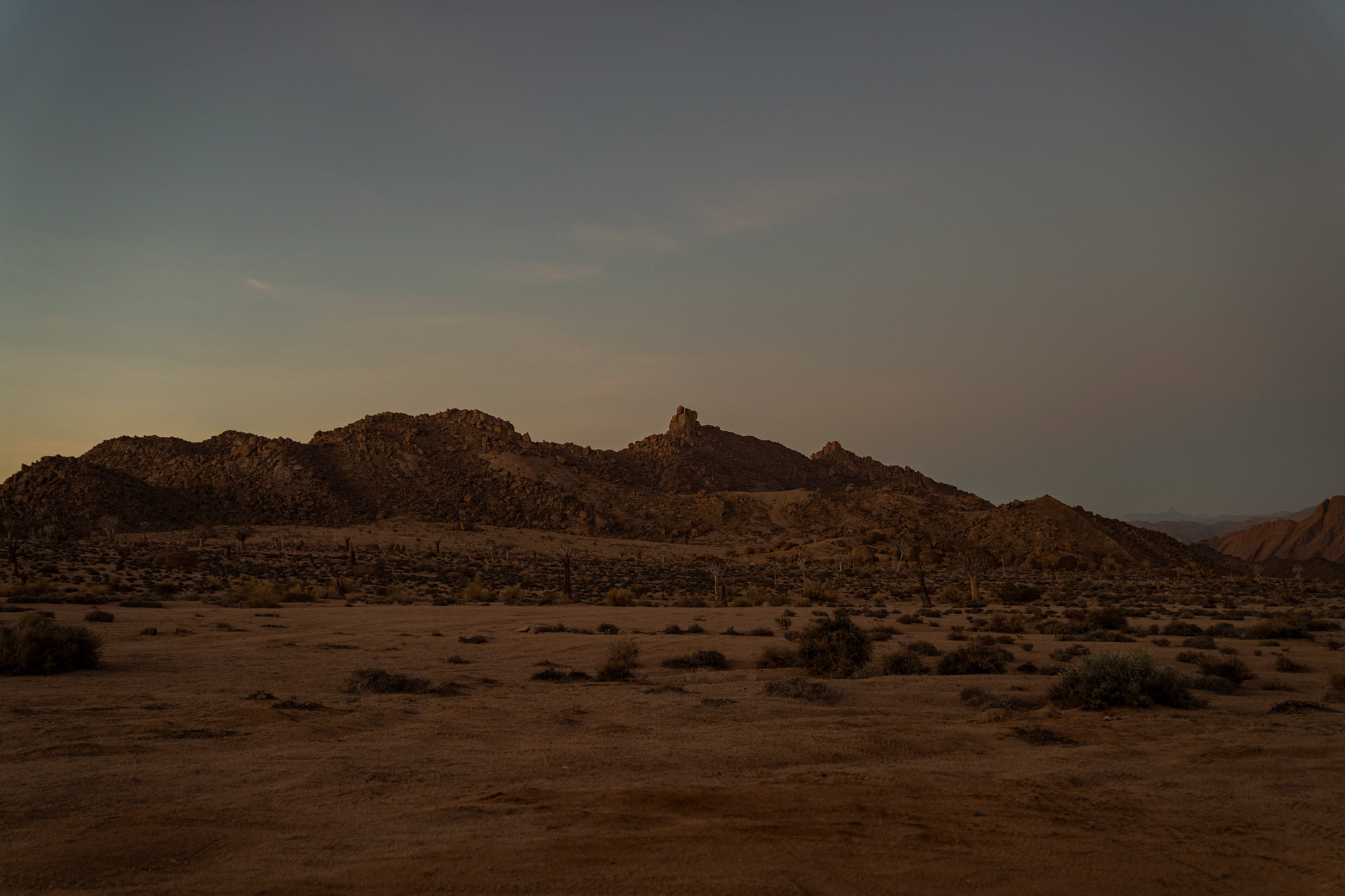 An offline journey to Richtersveld