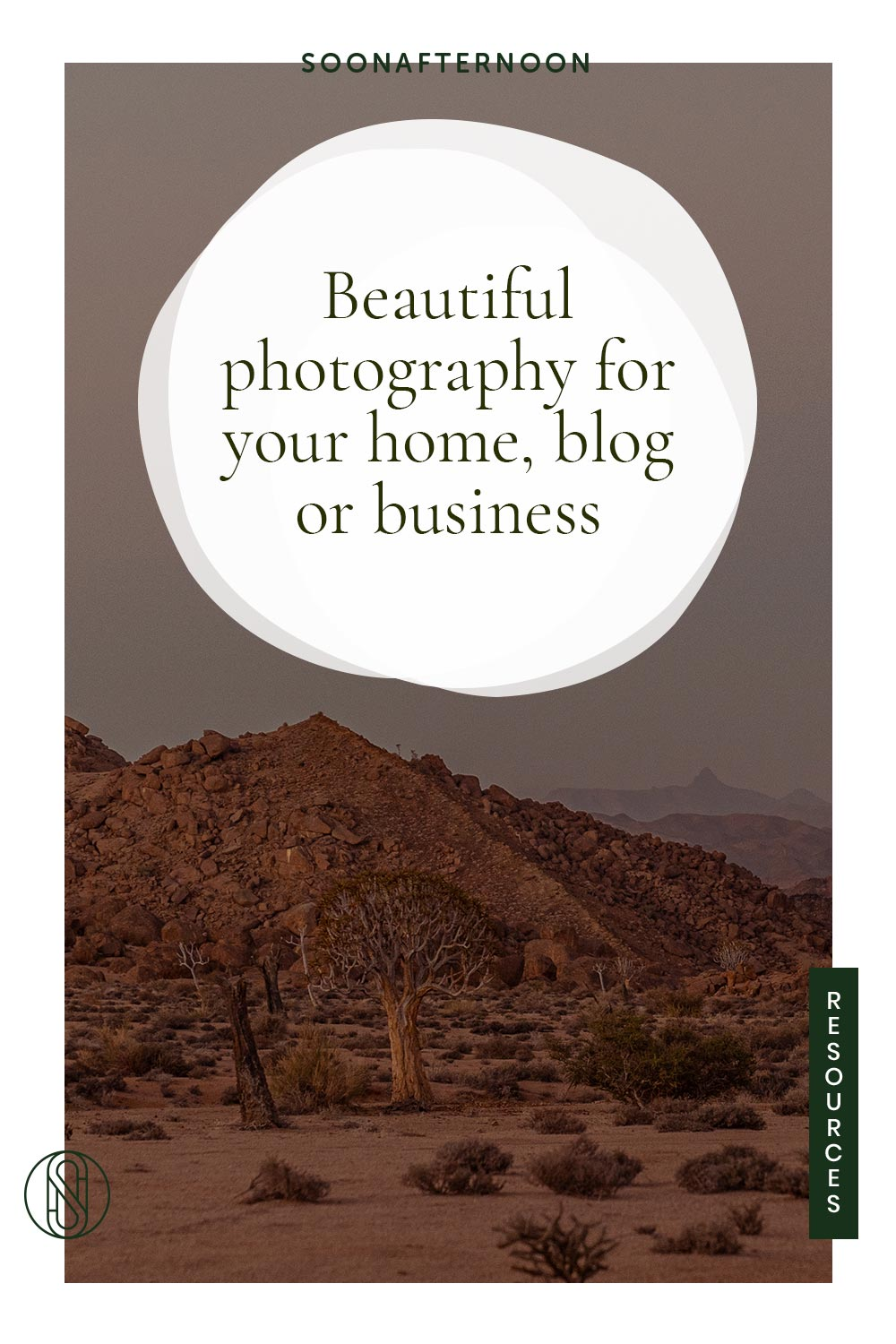 Beautiful photography for your home blog or business