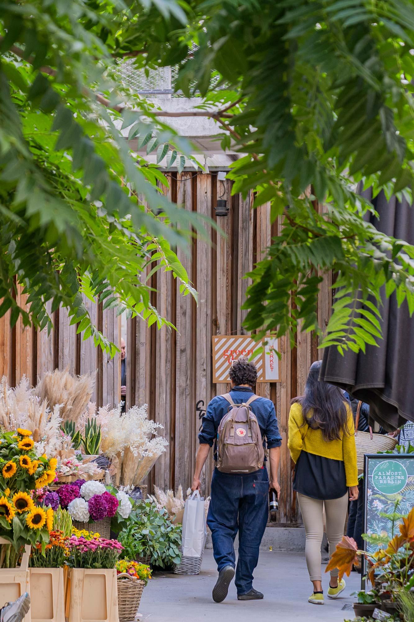 Green Days Sunday flower market